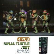 """NEWLY NECA Teenage Mutant Ninja Turtles TMNT 2018 SDCC 1990 7"""" Action Figure Toy"""
