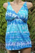 NEW Autograph FIRMING TUMMY PANEL Swimsuit TANKINI Top Size 16 BLUE $69.99