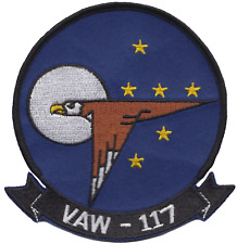Carrier AEW Squadron 117 VAW-117 United States Navy USN Embroidered Patch