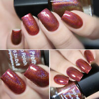 6ml Holographic Hologram Nail Polish Brown Glitter Nail Art Varnish Born Pretty