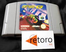 EXTREME G NINTENDO 64 N64 Cartucho Europeo Funcionando Buen Estado Carreras 3D