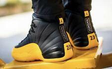 Nike Air Jordan 12 XII Black University Gold Yellow AJ12 Retro Basketball Shoes