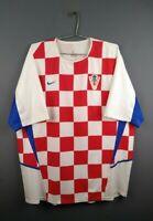 5/5 Croatia jersey 2XL 2002 2004 home shirt soccer football Nike ig93