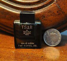 TSAR miniature perfume, mini men's fragrance VAN CLEEF & ARPELS 7ml/0.24 OZ edt
