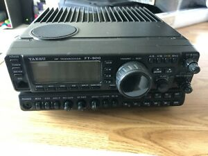 Yaesu FT900R, with MD100 Mic and SOTABEAM two band portable antenna