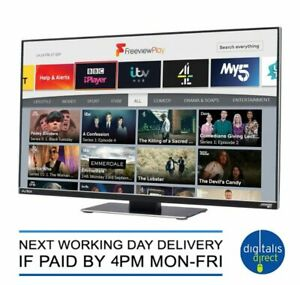 Avtex D249FVP 24″ Connected HDTV with Freeview Play – 12V/240V – With DVD Player