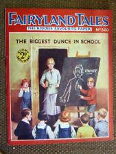 """Fairyland Tales No 320"". 1928.  Scarce John Leng / D.C. Thomson publication."