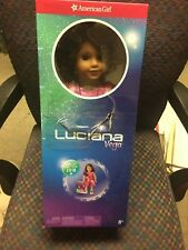 American Girl Doll Of The Year Luciana Vega 18 Inch Doll, Gently Used No Reserve