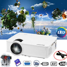 7000Lumen 1080P 3D Home LED Projector Multimedia HDMI/USB/SD/AV/VGA/3.5mm EHD09