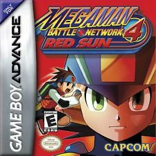 Mega Man 4 Red Sun GBA New Game Boy Advance