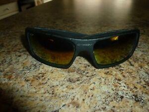 Oakley Gascan Matte Black Frame Sunglasses Vintage made in USA