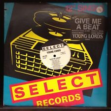 "[EDM]~NM 12""~YOUNG LORDS~Give Me A Beat~[Boriqua ~Dub~Radical ~Beats~Radio]"
