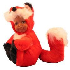 """""""Babes In The Wild"""" Plush Doll with Porcelain Face: Dark Foxy Florence Maranuk"""