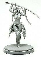 Pinup Phoenix Dancer Model for Kingdom Death Game Resin Figure Recast 30 mm