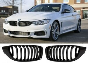 BMW 4 series F32 F33 F36 M performance gloss black kidney grille grilles grills