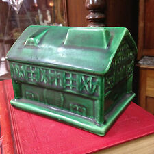 Ancienne Tirelire en Céramique à Casser maison alsacienne Alsace des années 30