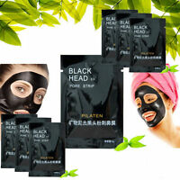 Lots 9Pcs Purifying Peel-off charcoal Mask Facial Cleansing Blackhead Remover