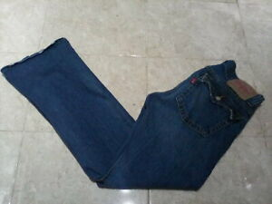 LEVI'S 504 Low Rise Slouch Bootcut  Jeans  , size 14 UK , 32W 31L