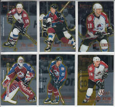 95/96 Pinnacle Certified Select Colorado Avalanche Team Set Roy Wilson RC +