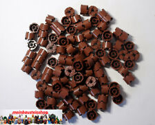 100x LEGO ® 3941 6143 Cycle Basic pierres 4211166 2x2 brun rouge Reddish Brown NEUF
