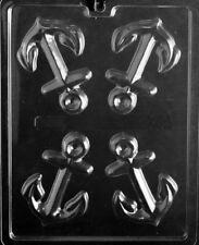 N068 Anchor Chocolate Candy Soap Mold with Molding Instructions Included