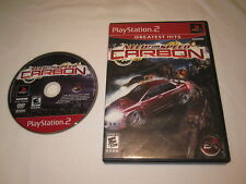 Need for Speed: Carbon (Playstation PS2) GH Game in Case Vr Nice!