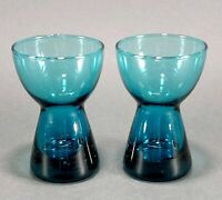 2 Turquoise Blue Egg Cups