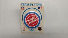 Vintage Detroit Pistons NBA Pin Pinback Button NOS