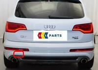 AUDI Q7 4L 06-16 NEW GENUINE REAR S-LINE BUMPER N/S LEFT TOW HOOK COVER CAP