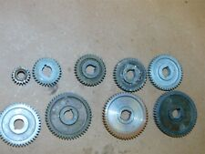 Sears 6 Craftsman Metal Lathe 109 20630 Change Gear Set 12 Id 32 56