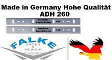 METABO 2 HSS Hobelmesser 260 mm ADH 260 ( 263x24x1,5mm )