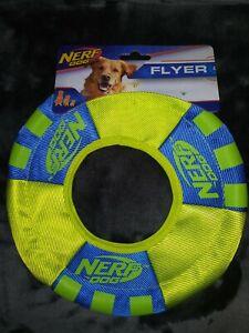 *NEW* Nerf Dog 9.5' Flyer Nylon Disk 🥏 For Dogs 🐕