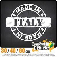 Hecho en Italia chf0617 en 3 Tallas JDM Luna Trasera Pegatina