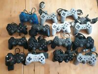 Sony PlayStation Controller x15 bundle Faulty Spares Only