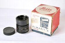 Leica Leitz Wetzlar 90mm f2.8 Elmarit-R Lens 11239 Three cam for R or Leicaflex