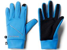 Columbia Men's Trail Summit Running Glove, Azure Blue, Medium