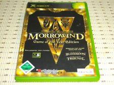 Morrowind The Elder Scrolls III 3 Game of Year XBOX OVP