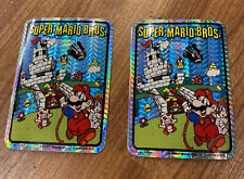 Rare 1990 VINTAGE NINTENDO SUPER MARIO BROS VIDEO GAME PRISM VENDING STICKER NES