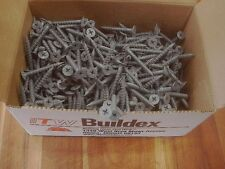 "ITW Buildex Rock-On, HI-LO, 500 Pack, #9-15X1-5/8"" Cement Board Screws, 2153557"