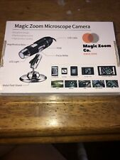 Magic Zoom Microscope Camera Metal Fixed Stand Usb Led Light Mini Scope New Ee