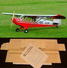 """105"""" Ws SUPER CUB PA-18 R/c Plane short kit/partial kit & plans, PLEASE READ"""