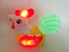 Rooster Pollo Giocattolo per bambini di età 3 + LUCI E SUONI!!