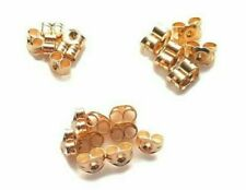 9ct Gold Earring Backs Butterfly Scrolls Push Fit .375 ~ XSmall ~Small ~ Large