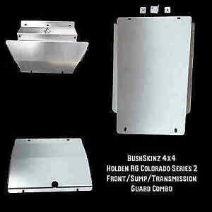 BushSkinz - Holden RG Series 2 Colorado Front, Sump & Transmission Guard / Bash