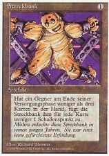 Mtg 1x the rack/tortura-alemán unlimitiert * Deutsch German played *