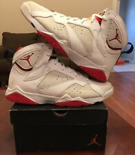 Nike Jordan Air Retro Hare 7 VII White Red Yellow French Cardinal Zoom Lot 1 11