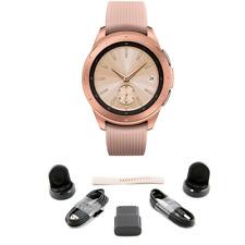 BUNDLE Samsung Galaxy Bluetooth Watch 42mm Rose Gold SM-R810NZDCXAR