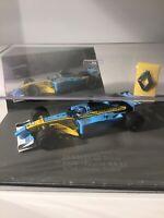 Universal Hobbies 1/43 Renault F1 R202 RS22 No. 14 Jarno Trulli Mild Seven Car