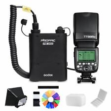 Godox TT685N Flash Speedlite PB960 Battery Power Pack Black CX Cable for Nikon