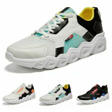 Mens Sneakers Running Gym Sports Shoes Breathable Fashion Casual Athletic Soft B